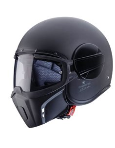 Casco Caberg Ghost Negro Mate para moto