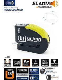 Pinza disco Alarma Urban Security Disclock UR10