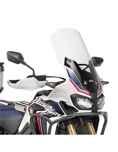Cúpula Honda Africa Twin CRF1000L 2016-2017 Parabrisas alto Givi D1144ST
