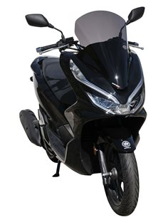 Cupula Honda PCX 125 2019 Ermax elevada Negro Oscuro