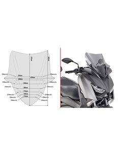 Cupula Yamaha X-Max 125 2018 300 2017-2018 400 2018 Givi D2136S