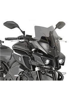 Cupula Yamaha MT-10 2016-2019 Givi D2129B Negro brillo
