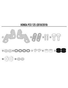 Kit anclajes cupula Honda PCX 125 2018-2019 Givi D1163KIT