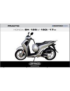 Candado Antirrobo Honda SH125 2017-2019 Artago Pratic STY