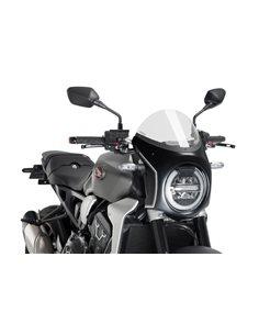 Semicarenado Retro Honda CB650R 2019 CB1000R 2018-2019 Simil Carbono