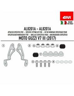 Kit de anclajes Givi AL8201A específico para cúpulas GIVI para 100AL, 100ALB, 140A, 140S