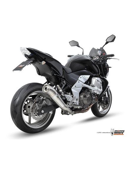 Escape Kawasaki Z750 2007-2014 Mivv Ghibli Acero inox K.018.LGX