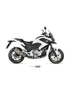 Escape Honda Integra 750 NC 750 X/S 2014-2015 Integra 700 2012-2013 NC 700 X/S 2012-2014 Mivv Suono Inox H.046.L7