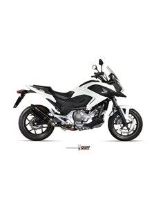 Escape Honda Integra 750 NC 750 X/S 2014-2015 Integra 700 2012-2013 NC 700 X/S 2012-2014 Mivv Suono Inox Black