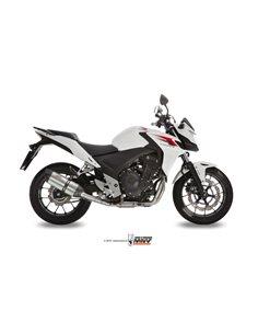 Escape Honda CB500F CB500X CBR500R 2013-2015 Mivv Suono Inox H.051.L7