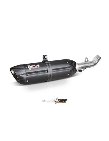 Escape Mivv H.013.L9 Honda CBR 600 F del 2001-2010 Suono Inox Black