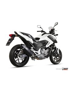 Escape Honda NC750 S/X 2014-2015 NC700S/X Integra 700 2012-2013 Integra 750 2014-2015 Mivv H.046.LRDB Speed Edge Steel Black