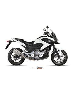 Escape Honda NC700 S/X Integra 700 2013-2014 Integra 750 NC750 S/X 2014-2015 Mivv Speed Edge Acero Inox H.046.LRX