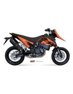 Escape Mivv KT.003.L9 KTM 690 SM del 2007-2012 Suono Inox Black