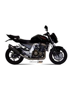 Escape Mivv K.011.L9 Kawasaki Z 750 2004-2006 Suono Inox Black