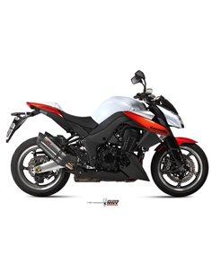Escape Mivv K.025.L9 Kawasaki Z 1000 del 2010-2013 Suono Inox Black