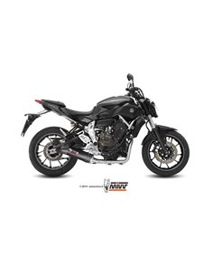 Escape completo Yamaha MT-07 2014-2019 Mivv Oval Carbono Y.044.L3C
