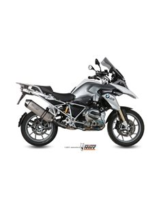 Escape BMW R 1200 GS / Adventure 2013-2018 Mivv Speed Edge Titanio B.016.LGS
