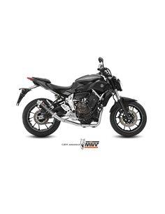 Escape completo Yamaha MT-07 2014-2019 Mivv GP Carbono Y.045.L2S Alto