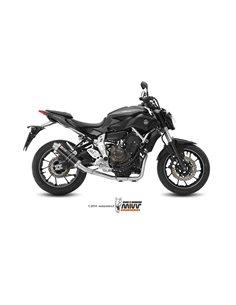 Escape completo Yamaha MT-07 2014-2019 Mivv GP Acero Inox Black Y.045.LXB