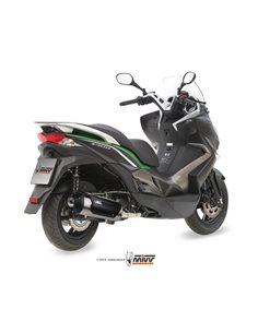 Escape mivv Kymco Superdink 300 Kawasaki J300 urban inoxidable