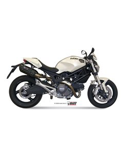 Escape Ducati Monster 696 2008-2014 Mivv Suono inox Black D.023.L9
