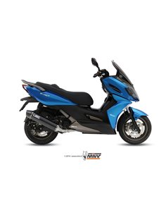 Escape Kymco K-XCT 300 2012-2016 mivv O.006.LBSC Stronger Black