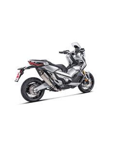Escape Honda X-ADV 2017-2020 Akrapovic Titanio S-H7SO3-HRT