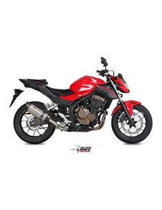 Escape Mivv H.062.L7 Honda CB500F 2016-2018 Suono Inox