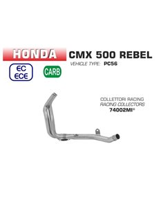 Colector Racing Honda Rebel 500 2017-2018 Arrow 74002MI
