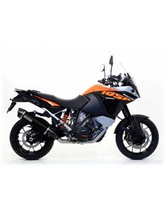 Escape KTM Adventure/Superadventure Arrow Race-Tech Aluminio Negro 71809AKN