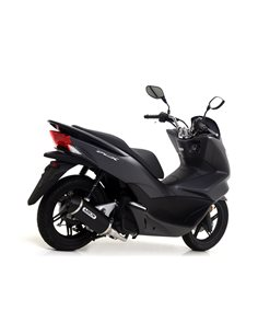 Escape Honda PCX 125 2012-2017 Arrow Urban aluminio negro 53519ANN