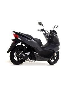 Escape Honda PCX 125 2012-2017 Arrow Urban aluminio negro 53519ANN