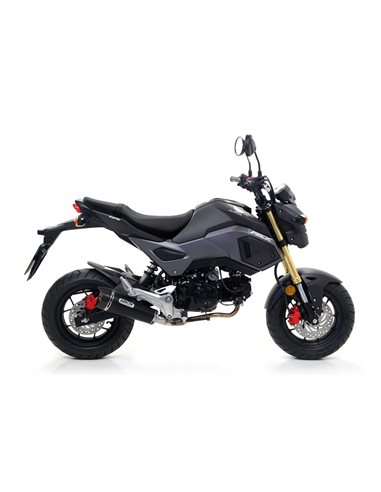 Escape Honda MSX 125 2016-2019 Arrow X-Kone Nichrom Dark 52507XKN