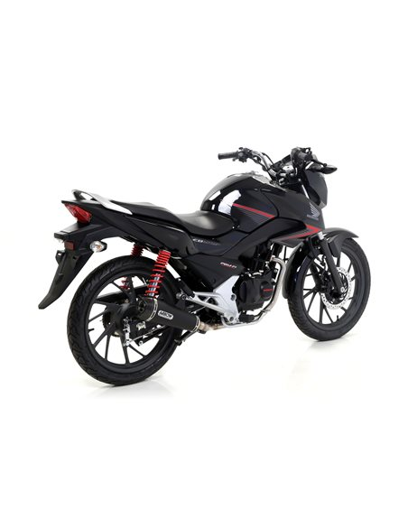 Escape Arrow Honda CB125F 2015-2016 X-Kone Nichrom Dark 51514XKN