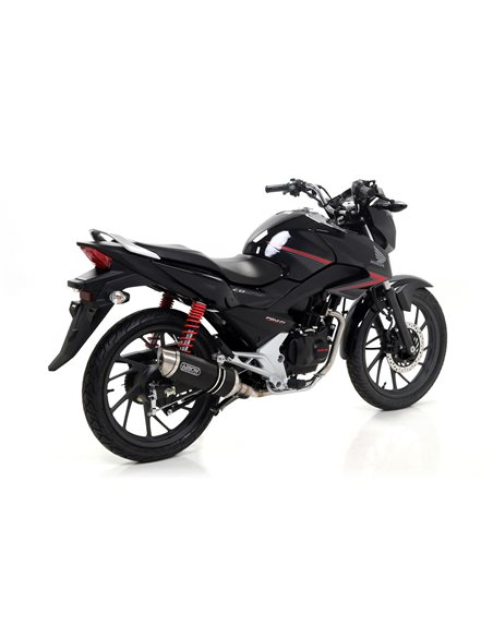 Escape Arrow Honda CB125F  2015-2016 Thunder aluminio 51514AO