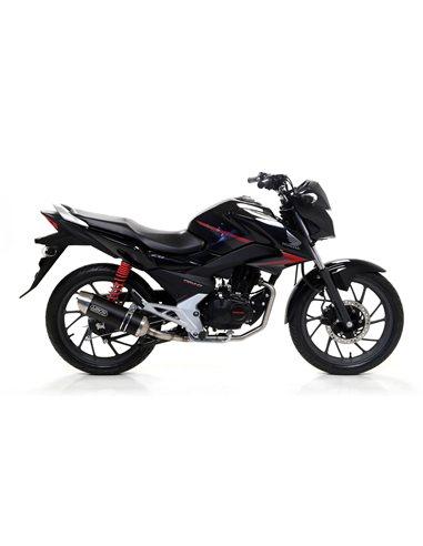 Escape Arrow Honda CB125F 2015-2016 51514AON Thunder aluminio dark homologado