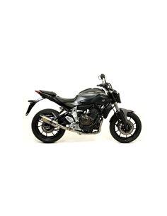 Escape Arrow 71817PK Yamaha MT-07 Thunder titanio punta carbono