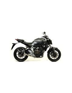 Escape Arrow 71817AKN Yamaha MT-07 Thunder aluminio negro punta carbono