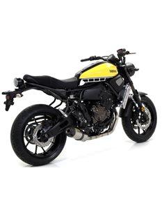 Escape Arrow 71843JR Yamaha MT-07 Jet Race titanio punta carbono