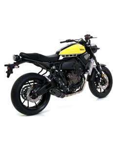 Escape Arrow 71843JRN Yamaha MT-07 Jet Race Nichrom Dark punta carbono