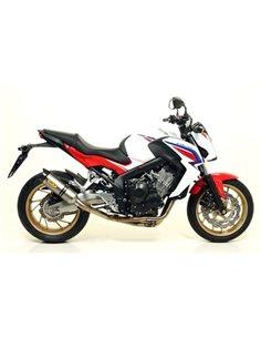 Escape Honda CB650F CBR650F 2014-2018 Arrow 71821AK Thunder aluminio