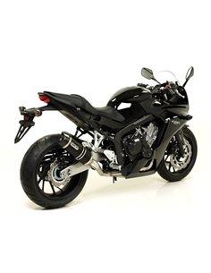 Escape Honda CB650F CBR650F 2014-2018 Arrow 71821AKN Thunder aluminio Dark