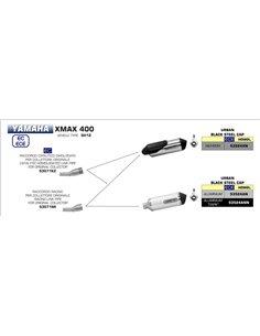 Conector Arrow 53071KZ Homologado Yamaha X-max 400 2017-2018
