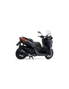 Escape Yamaha X-Max 400 2017-2018 Arrow urban Aluminio Dark 53524ANN