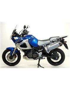 Escape Yamaha XT 1200 Z Super Tenere 2010-2018 Arrow 72614AKN Aluminio Negro