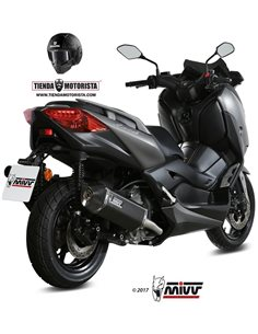 Escape Yamaha X-max 300 Mivv Y.062.LRB Speed Edge black