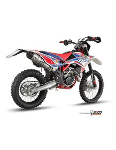 Escape Beta 350RR 400RR 450RR 2011-2012 Mivv Oval Acero Inox M.BE.004.LXC.F