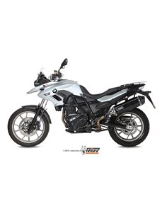 Escape Mivv B.014.LRB BMW F 700 GS del 2012  Speed Edge