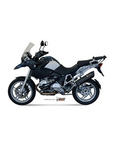 Escape Mivv B.004.L9 BMW R 1200 GS del 2008-2009 Suono inox Black